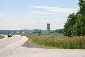 Illinois Route 92 - Illinois Route 92 enters the state from Iowa