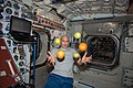ISS-36 Luca Parmitano with fresh fruit in the Unity node.jpg
