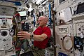 ISS-40 Alexander Gerst in the Kibo lab with SPHERES-RINGS.jpg