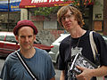 Ian MacKaye and Thurston Moore by David Shankbone (2858397504).jpg