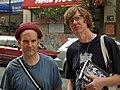 Ian MacKaye and Thurston Moore by David Shankbone (2858397504).jpg