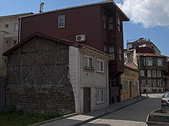 Zeyrek - Old houses on Ibadethane Sk.