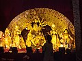 Idols of Maa Durga on the eve of Durga Pooja.jpg