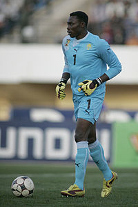 Image illustrative de l'article Carlos Kameni