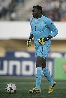 Carlos Kameni Cameroonian footballer