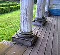 Iglesia de Nercón-base de pilares.JPG
