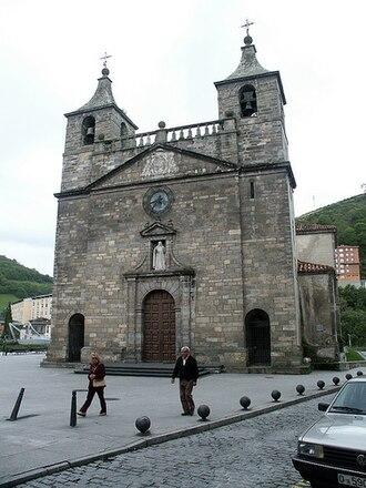 Cangas del Narcea - Church of Santa María Magdalena, Cangas del Narcea.