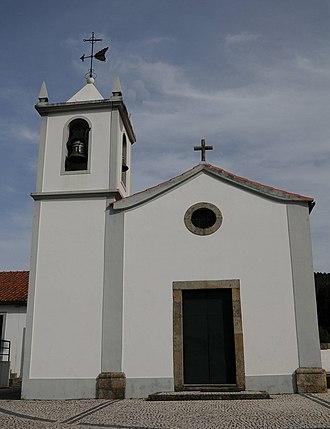 Nogueira, Fraião e Lamaçães - Image: Igreja Fraiao