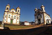 Baroque churches in Mariana.