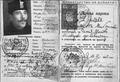 Iliya Dilberov ID card 1942.png