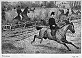 Illust by Edgar Giberne for Riding Recollections by George John Whyte-Melville-Leaving brothers, husbands, even admirers, hopelessly in the rear.jpg