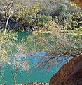 Imagem da Lagoa Azul (Parque Municipal da Gruta do Catão, São Desidério, Bahia).jpg