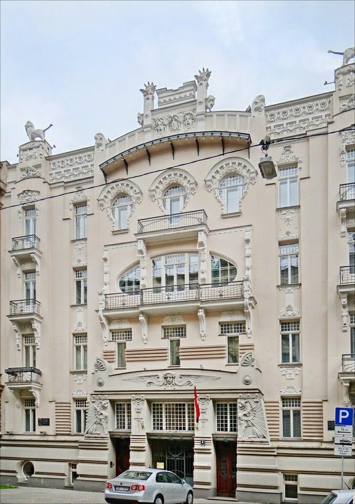 Immeuble art nouveau (Riga) (7567163020)