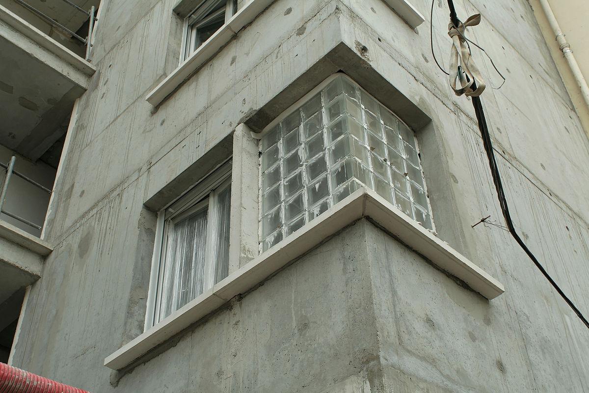 Brique de verre wiktionnaire - Pose brique de verre fenetre ...