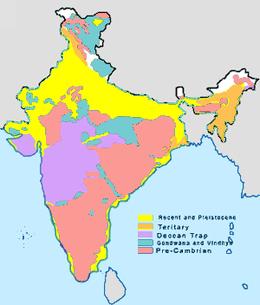 Geology of India - Wikipedia