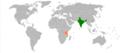 India Tanzania Locator.png