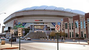 2005–06 NCAA Division I men's basketball season - The RCA Dome was the site of the Final Four and Championship game to end the 2005–06 season.