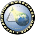 Information Awareness Office seal with its motto scientia est potentia.png