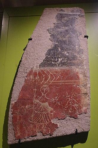 Roman graffiti - Inscription on wall plaster