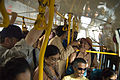 Inside a BMTC bus, May 2008 (1).jpg