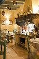 Inside a restaurant in Grignan, Drôme, France (6053056030).jpg
