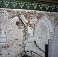 Interieur, detail van muur met restant van muurschildering - Kloetinge - 20381911 - RCE.jpg