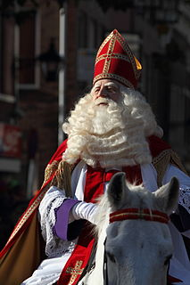 Sinterklaas Legendary figure based on Saint Nicholas