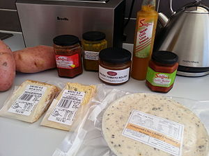 Inverloch, Victoria - Local food sold at the farmers market