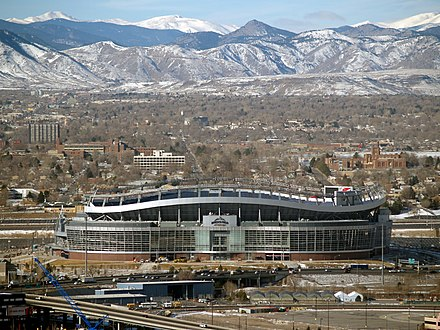 Broncos Stadium at Mile High, home of the Denver Broncos Invesco Field at Mile High.jpg