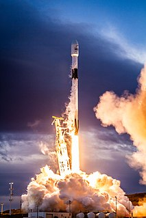 Falcon 9 Family of orbital launch vehicles made by SpaceX