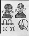 Iron mask, collar, leg shackles and spurs used to restrict slaves LCCN98504457.tif
