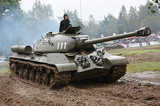 Heavy tank type of tank