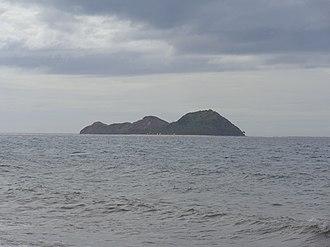 Culasi - Mararison Island seen from Culasi