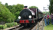 Isle of Wight Steam Railway Invincible.JPG