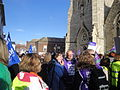 Isle of Wight public sector pensions strike in November 2011 3.JPG