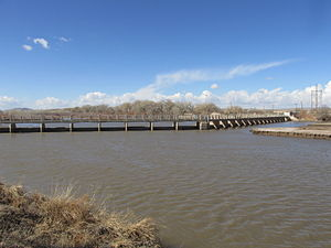 Isleta Diversion Dam - Isleta Diversion Dam