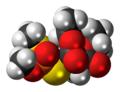 Isomalathion 3D spacefill.png