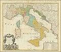 Italia in suos Status divisa et ex prototypo del Isliano desumta.jpg