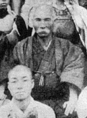 Anko Itosu, often called the 'Grandfather of modern karate.'