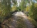 Järvijoen ylittävä silta Leonkujalla, Aura, 14.9.2010..JPG