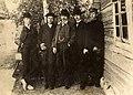 J. Marčiukaitis. Su broliais (centre), 1899 07 19-.jpg