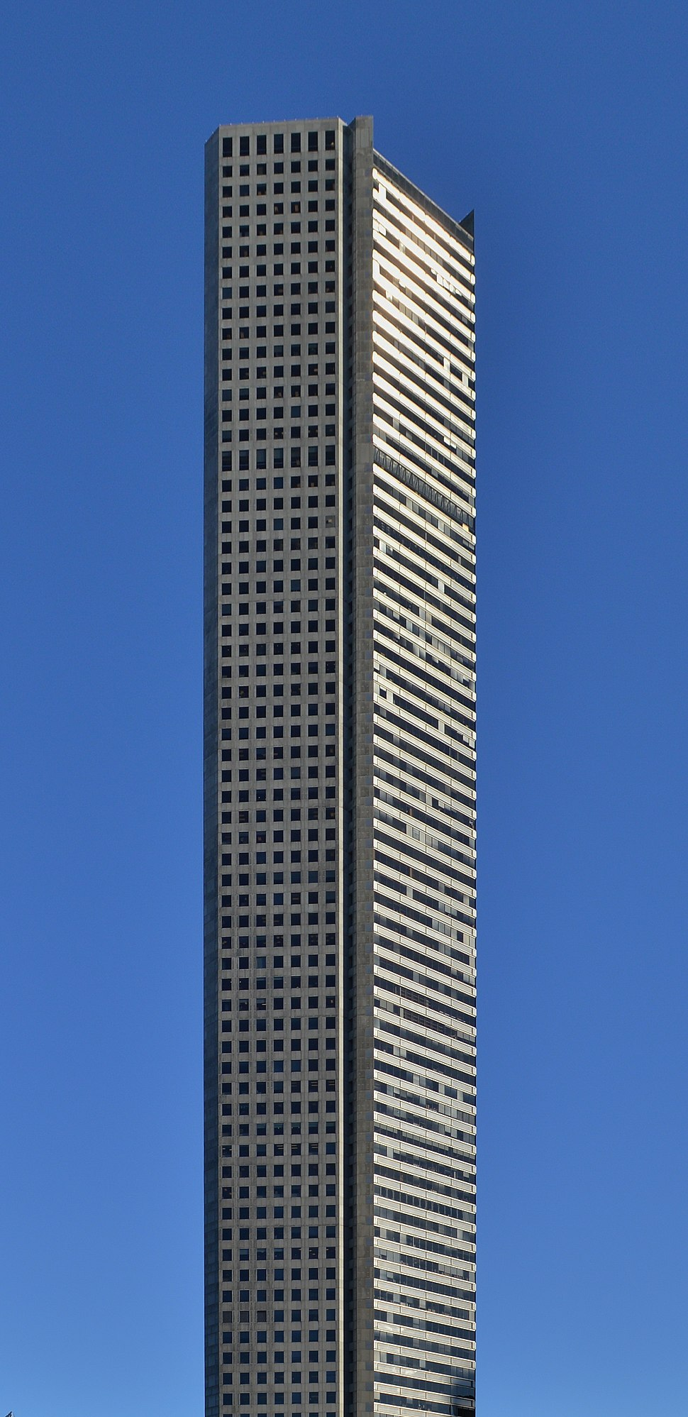 JP Morgan Chase Tower in Houston - Dec 2013