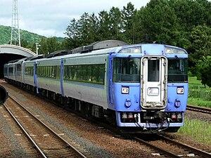 Super Tokachi - Image: JRH kiha 183 Limited express Tokachi