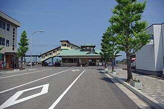 Rikuzen-Toyosato Station - Rikuzen-Toyosato Station in June 2007