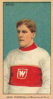 Jack Marshall (ice hockey) Canadian ice hockey defenceman