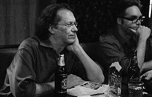 KGB (bar) - Image: Jack Womack at the Shirley Jackson Award Benefit, KGB bar, New York City 20080723