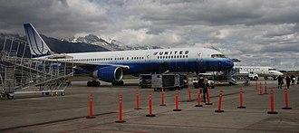 Jackson Hole Airport - Ramp at Jackson Hole Airport
