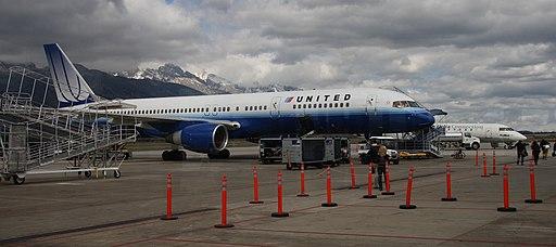 Jackson Hole Airport ramp