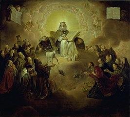 The Twenty-Four Elders Kneeling before the Lamb
