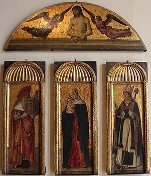 Jacopo, gentile e giovanni bellini, polittico della madonna, da s.m. della carità, 1464-70 ca., 01.JPG